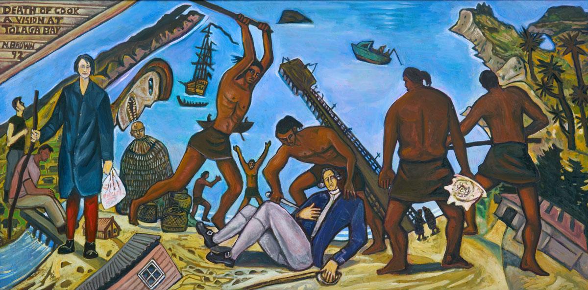 Death of Cook, A Vision at Tolega Bay