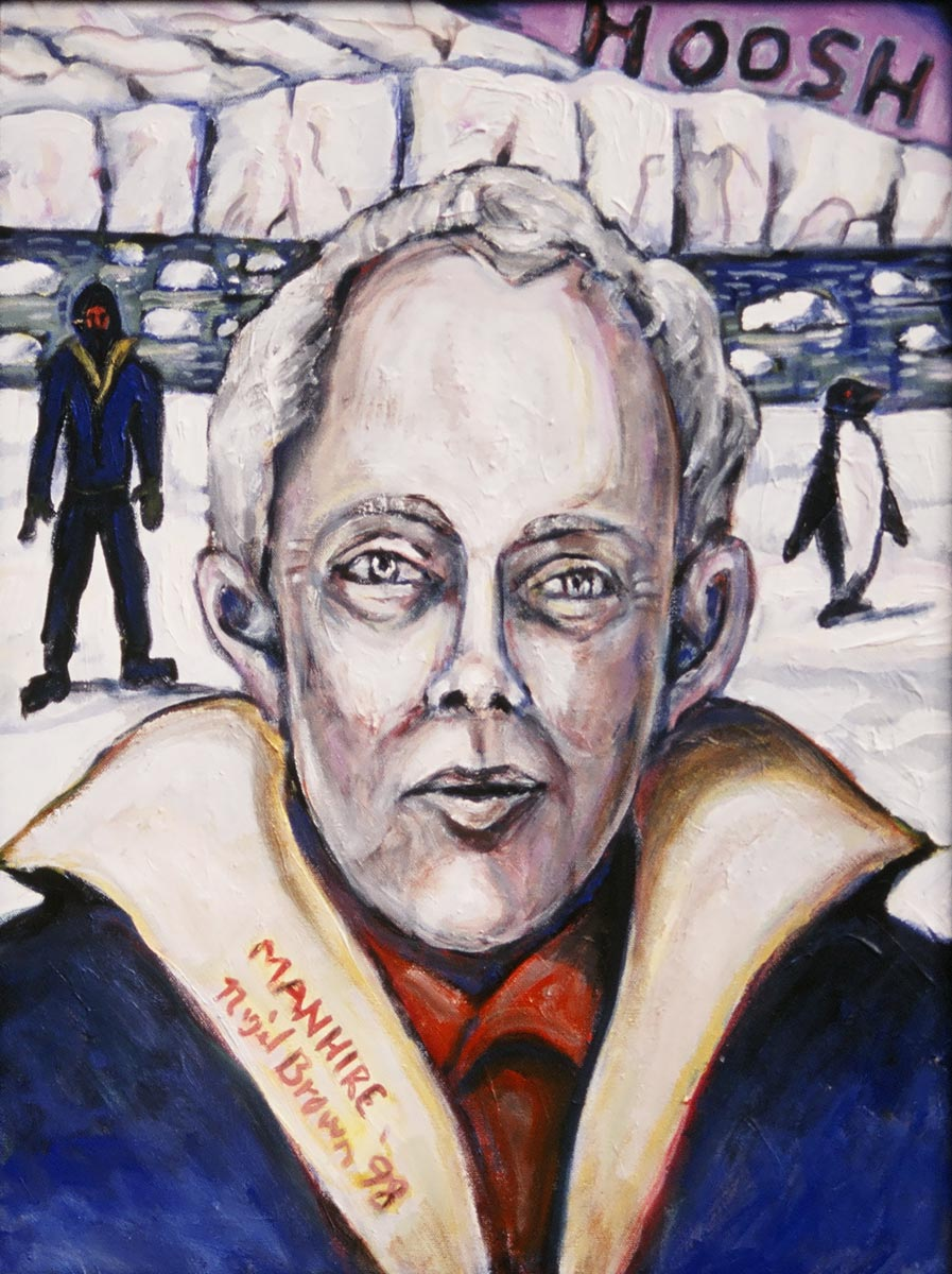 Hoosh - Portrait of Bill Manhire