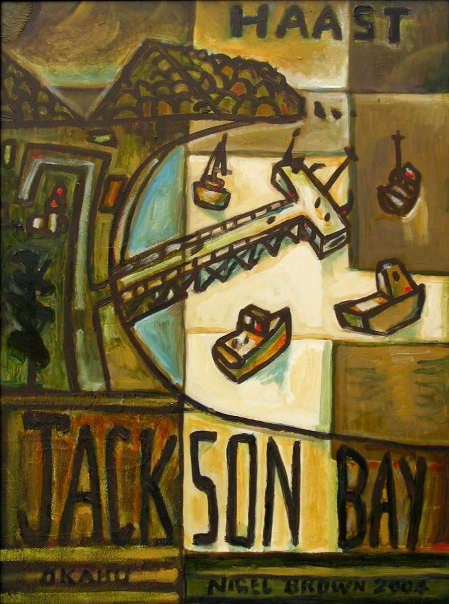 Jackson Bay Painting (No. unknown)