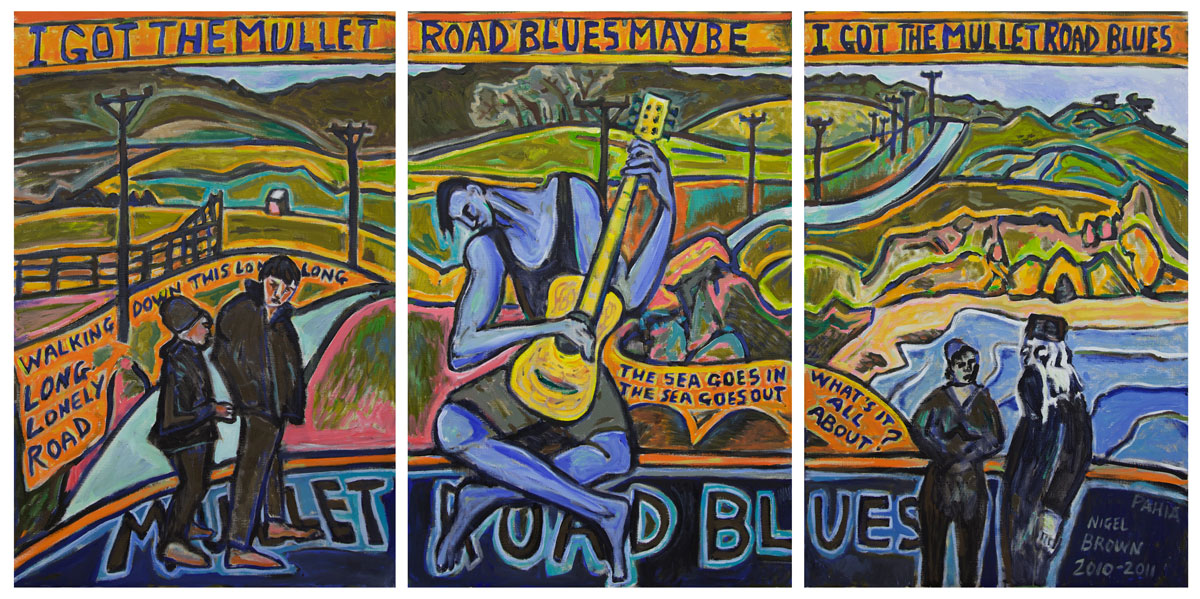Mullet Road Blues Triptych