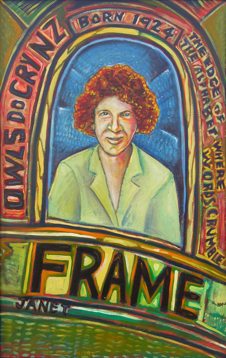 Names Painting: Janet Frame