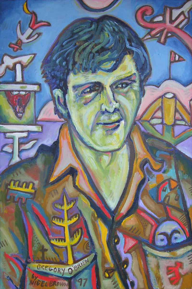 Portrait of Greg O'Brien