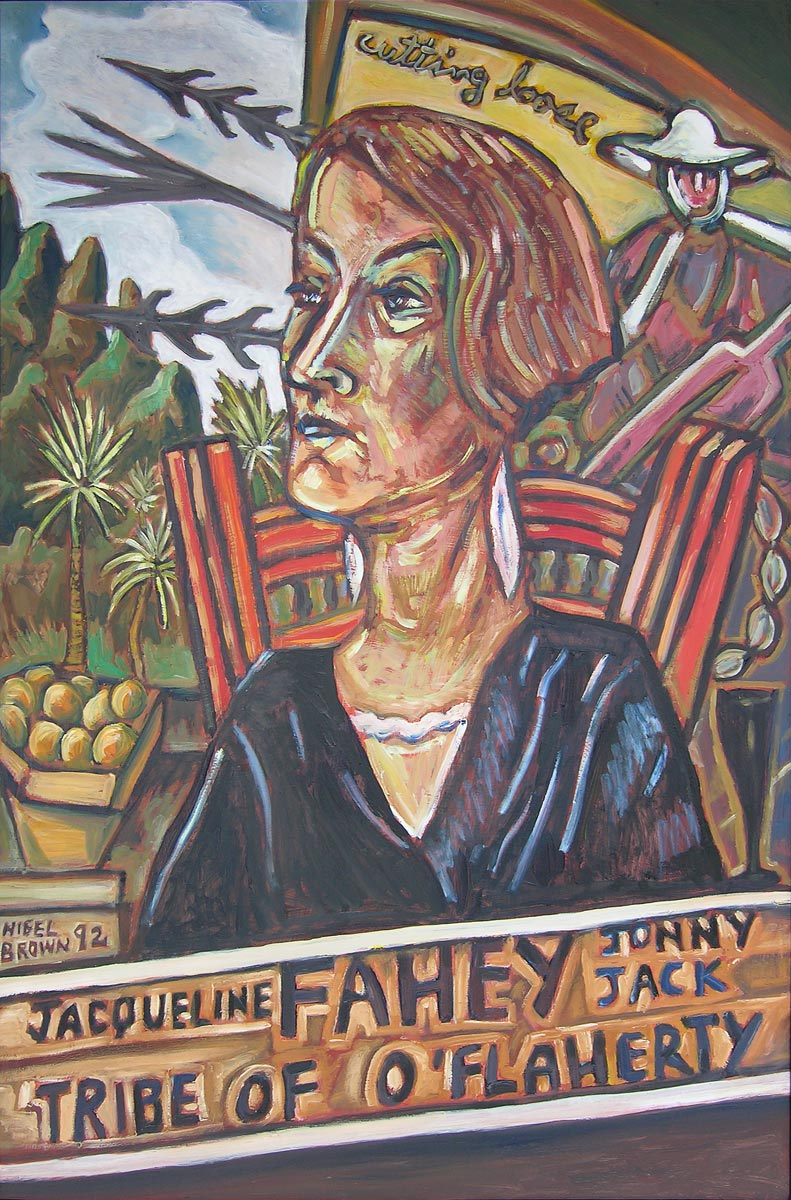 Portrait of Jacqueline Fahey