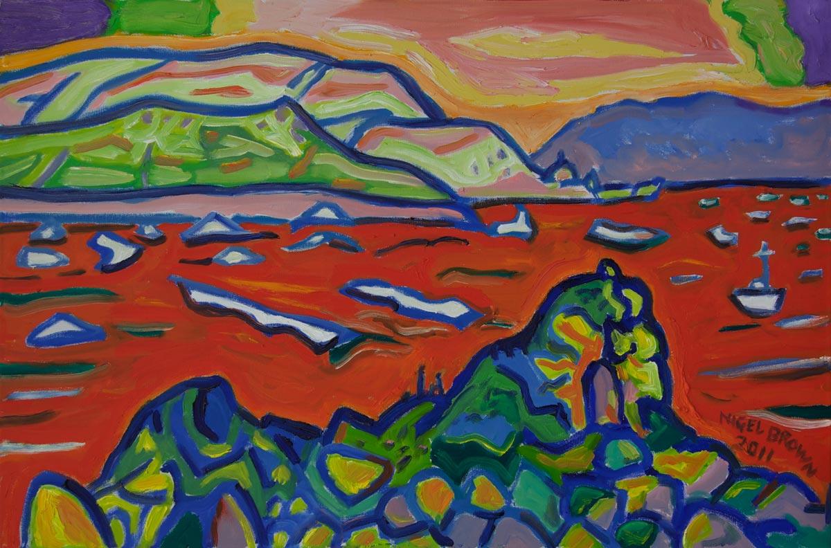Red Sea (Towards Ruahine)