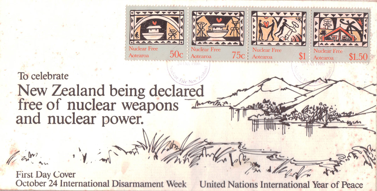 Stamp Designs for International Disarmament Week