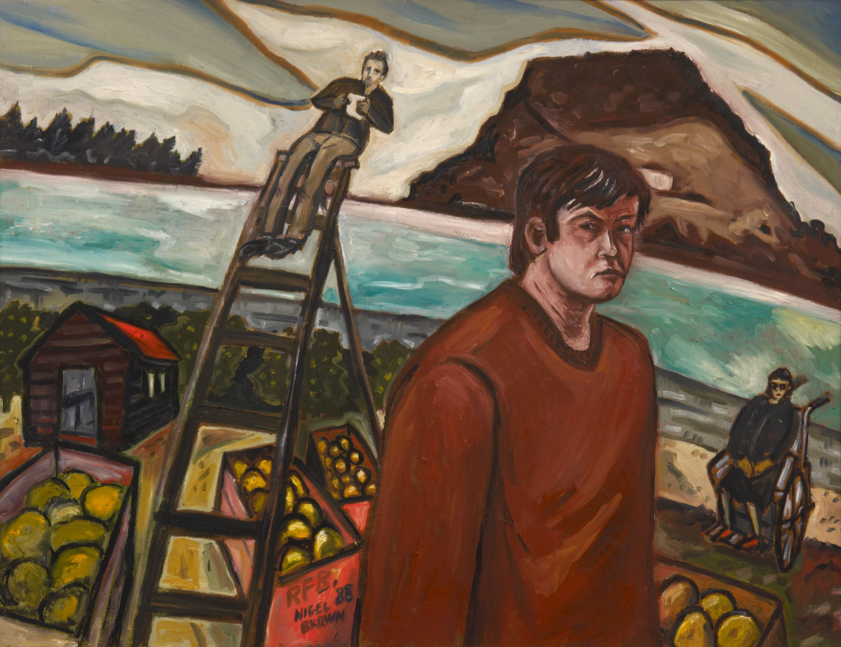 Tauranga Painting No. 6 (Self Portrait)