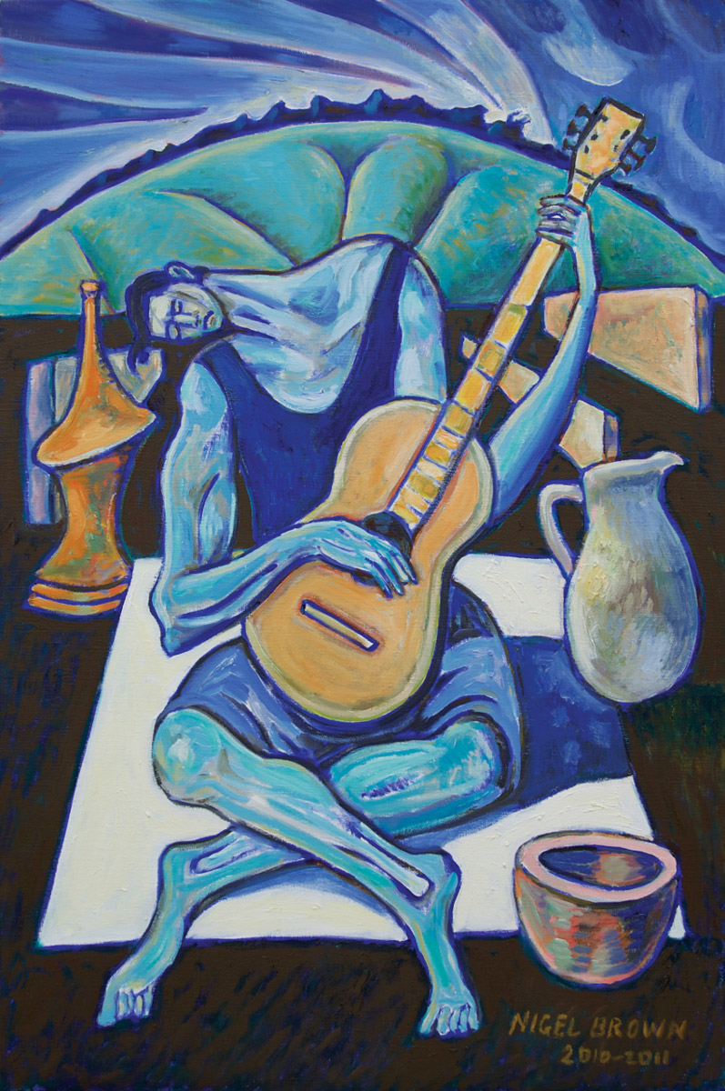 The Blue Guitarist