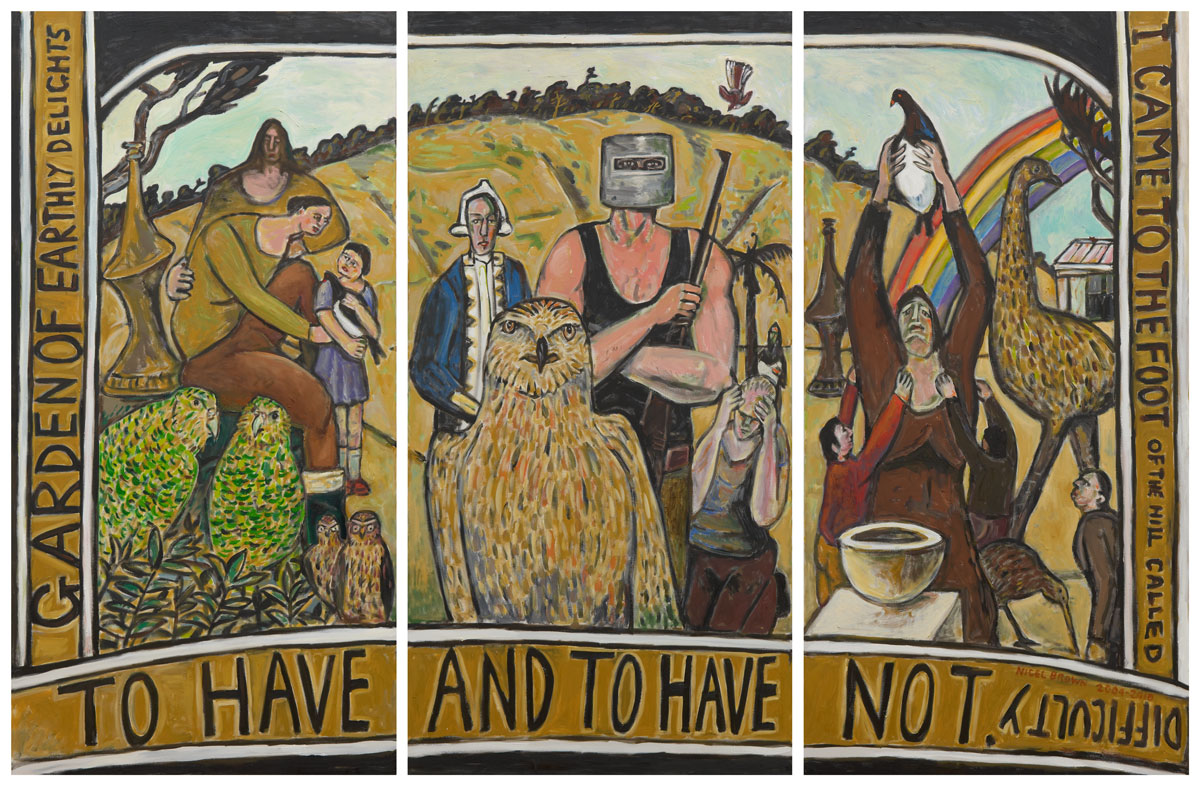 To Have & Have Not Triptych
