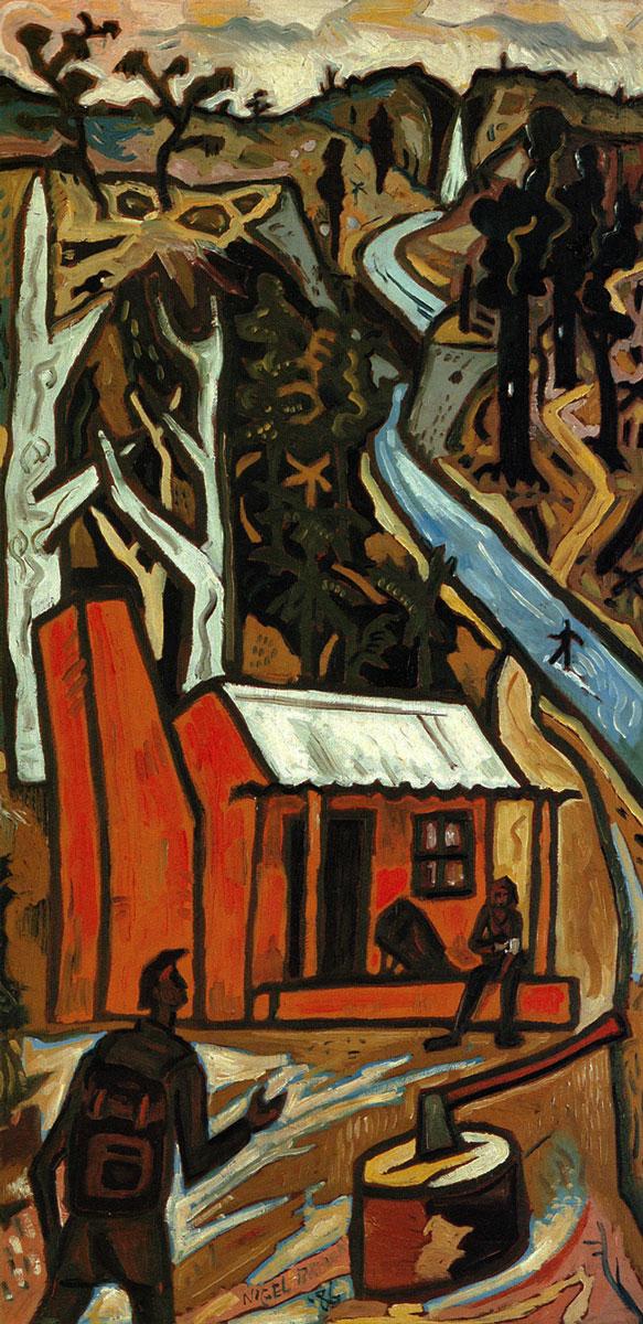 Urewera Painting No. 4