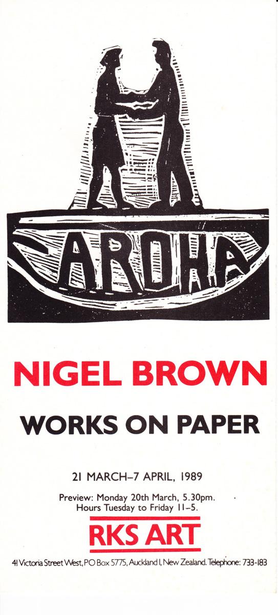 Aroha - Works on Paper