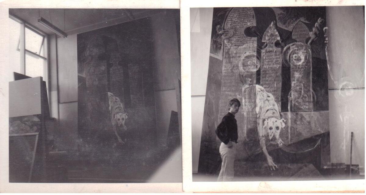 Nigel with Mrs Wareham's Gate